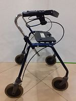 Rollators Rollator Dolomit maxi + 650 with support for hands and support for the back